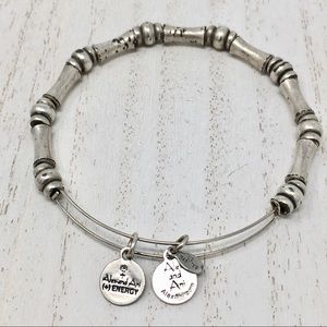 ALEX AND ANI Beaded Bangle Spacer 💫+2 Free Gifts